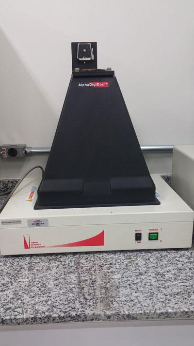 Transluminador de Luz UV